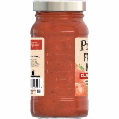 Prego Farmers' Market Classic Marinara Pasta Sauce Perspective: right