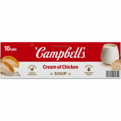 King Soopers Campbell S Condensed Cream Of Chicken Soup 10 Ct 10 5 Oz