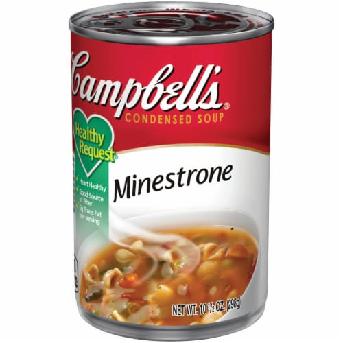 Campbell's Healthy Request Minestrone Condensed Soup Perspective: right