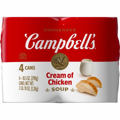 Campbell's Cream of Chicken Condensed Soup Perspective: right