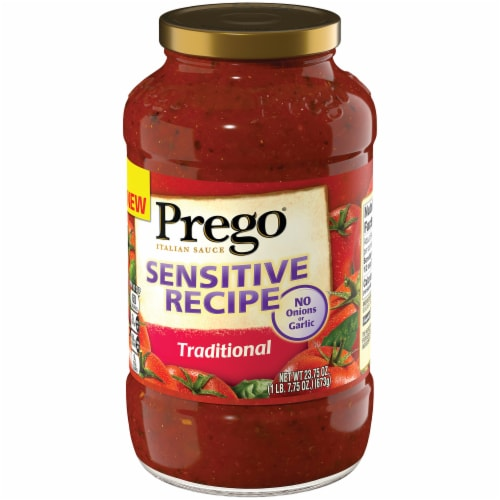 Prego Sensitive Recipe Traditional Italian Sauce Perspective: right