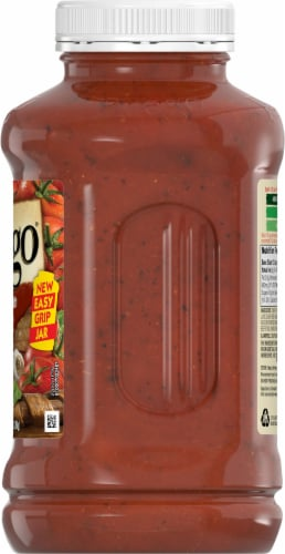 Prego Flavored with Meat Italian Sauce Perspective: right