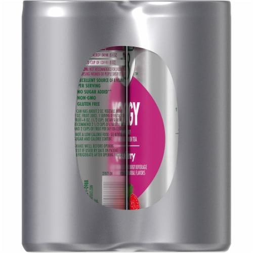 V8 +Energy Wild Berry Veggie & Fruit Juice Blend Perspective: right