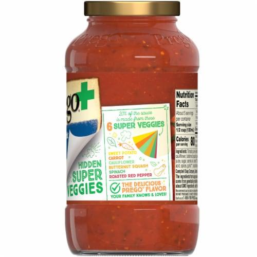 Prego Plus Super Hidden Veggies Roasted Garlic & Herb Flavored Pasta Sauce Perspective: right
