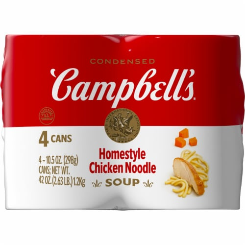 Campbell's® Condensed Homestyle Chicken Noodle Soup Perspective: right