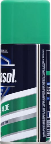 Barbasol Soothing Aloe Shaving Cream Perspective: right