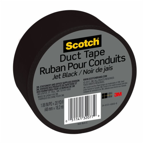 Scotch® Duct Tape - Jet Black Perspective: right