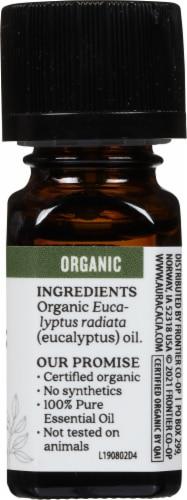 Aura Cacia Organic Eucalyptus Oil Perspective: right