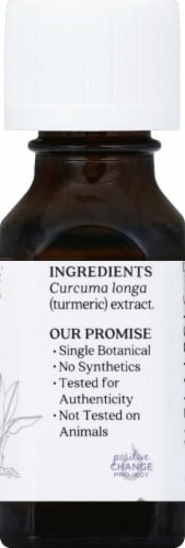 Aura Cacia Turmeric CO2 Extract Perspective: right