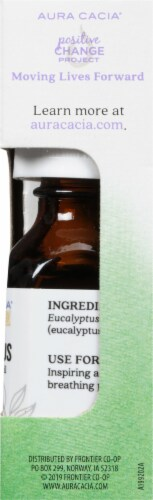 Aura Cacia Clearing Essential Oil Perspective: right