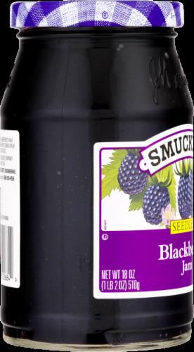 Smucker's Seedless Blackberry Jam Perspective: right