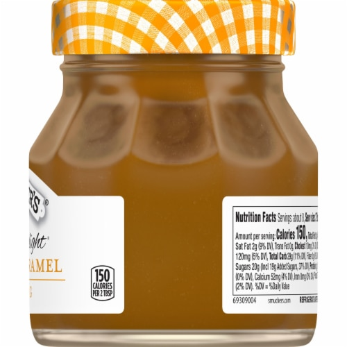 Smucker's® Simple Delight Salted Caramel Topping Perspective: right