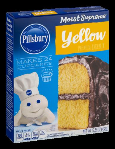 Pillsbury Moist Supreme Classic Yellow Cake Mix Perspective: right