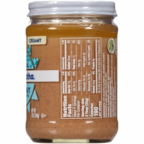Maranatha Creamy Coconut Almond Butter Perspective: right
