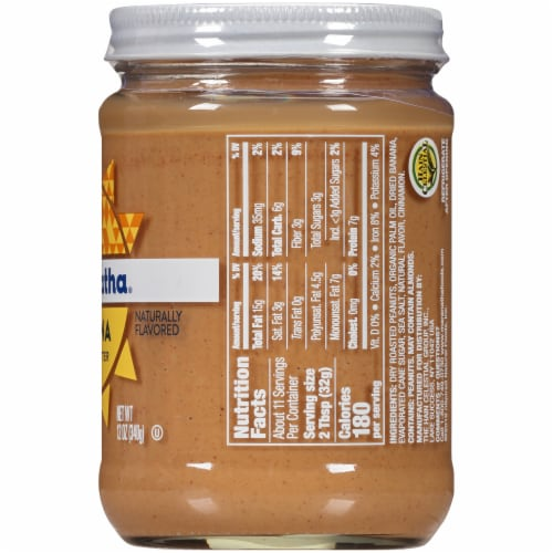 MaraNatha Creamy Banana Peanut Butter Perspective: right