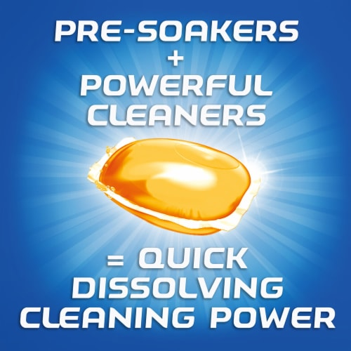 Finish Orange Scent Deep Clean Dishwashing Gelpacs 36 Count Perspective: right