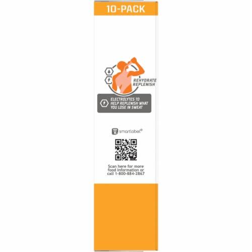 Gatorade Zero Sugar Orange Electrolyte Enhanced Sports Drink Powder Perspective: right