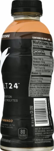 Bolt24 Peach Mango Hydration with Electrolytes Perspective: right