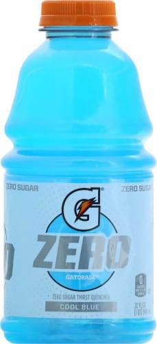 Gatorade Zero Sugar Thrist Quencher Cool Blue Sports Drink Perspective: right