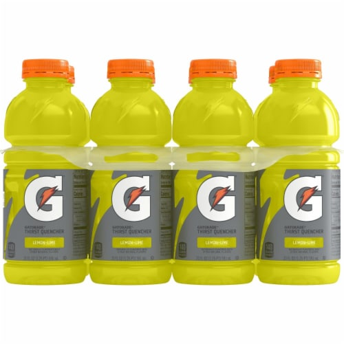 Gatorade Thirst Quencher Lemon Lime Sports Drink Perspective: right