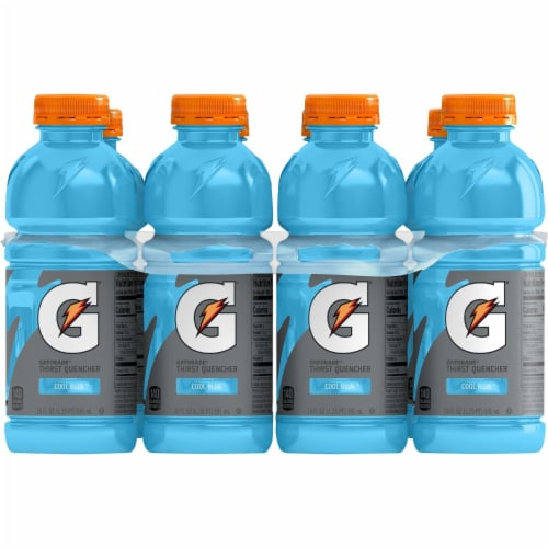 Gatorade Thirst Quencher Cool Blue Sports Drink Perspective: right