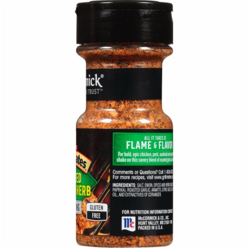McCormick Grill Mates Roasted Garlic & Herb Seasoning Perspective: right