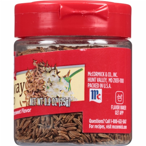 McCormick Caraway Seed Shaker Perspective: right