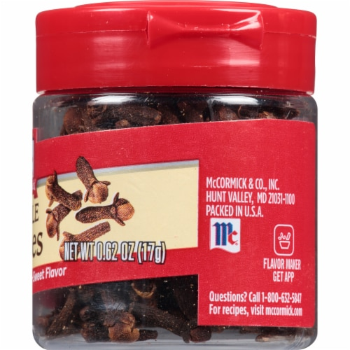 McCormick Whole Cloves Perspective: right