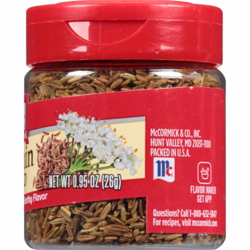 McCormick Cumin Seed Shaker Perspective: right
