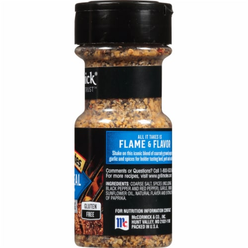 McCormick Grill Mates Montreal Steak Seasoning Perspective: right