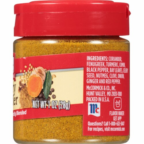 McCormick Curry Powder Perspective: right