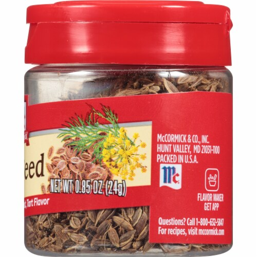 McCormick Dill Seed Shaker Perspective: right