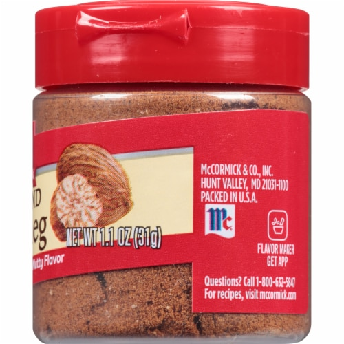 McCormick Ground Nutmeg Perspective: right