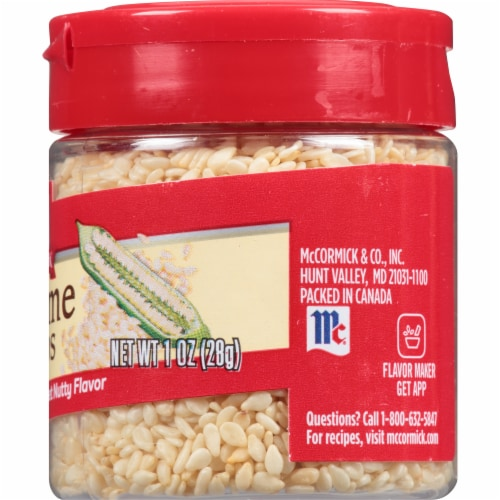 McCormick Sesame Seed Shaker Perspective: right