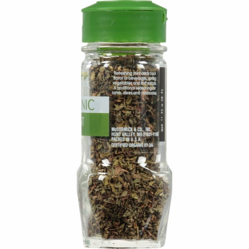McCormick Gourmet Organic Mint Perspective: right