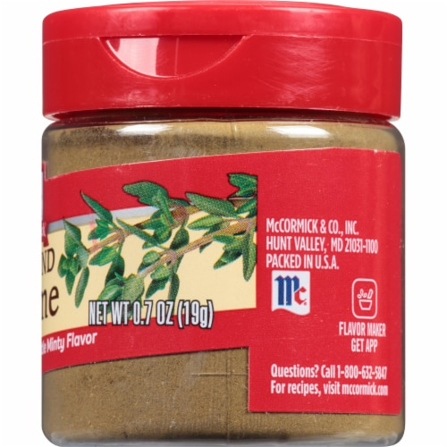 McCormick Ground Thyme Shaker Perspective: right