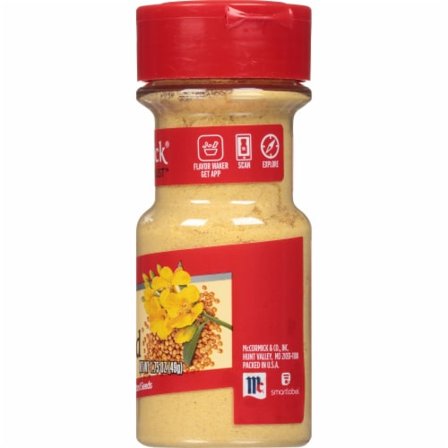 McCormick Ground Mustard Perspective: right