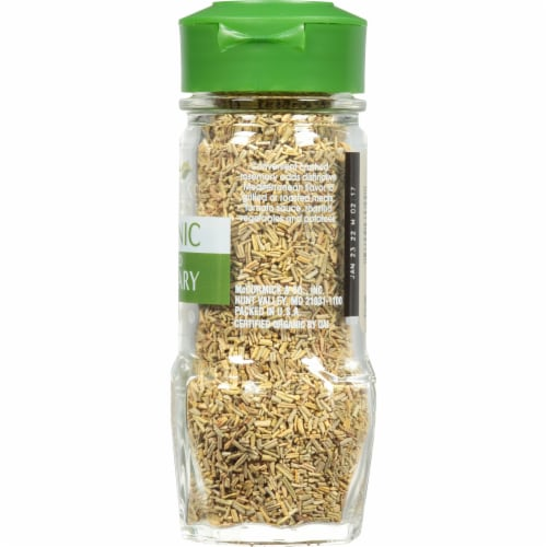 McCormick Gourmet Organic Crushed Rosemary Perspective: right