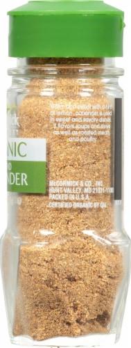 McCormick Gourmet Organic Ground Coriander Perspective: right