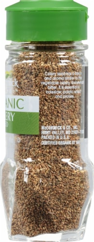 McCormick Gourmet Organic Celery Seed Perspective: right