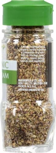 McCormick Gourmet Organic Marjoram Shaker Perspective: right