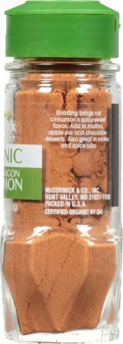 McCormick Gourmet Organic Roasted Saigon Cinnamon Shaker Perspective: right