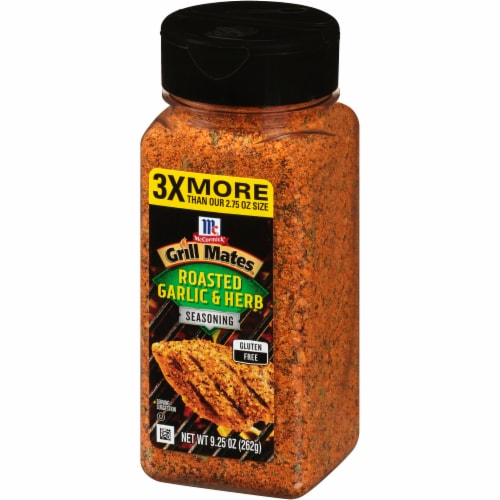 McCormick® Grill Mates® Roasted Garlic & Herb Seasoning Perspective: right