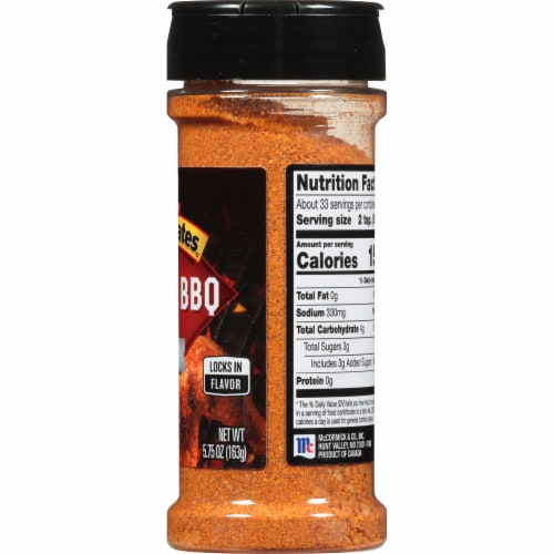 McCormick Grill Mates Maple BBQ Rub Shaker Perspective: right