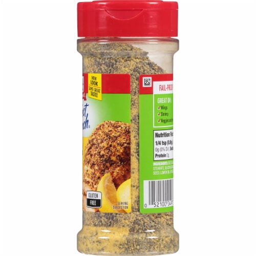 McCormick Perfect Pinch Lemon & Pepper Seasoning Perspective: right