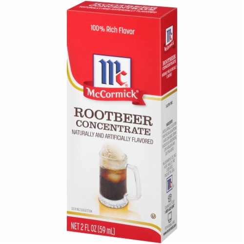McCormick Natural & Artificial Flavored Root Beer Concentrate Perspective: right