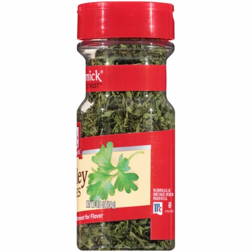 McCormick Parsley Flakes Shaker Perspective: right