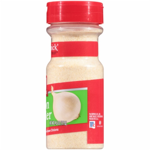 McCormick Onion Powder Perspective: right