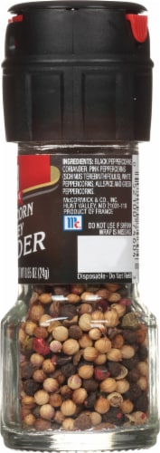 McCormick® Peppercorn Medley Grinder Perspective: right