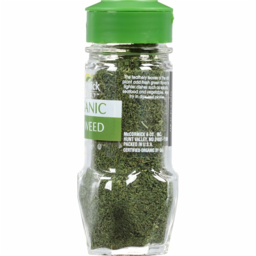 McCormick Gourmet Organic Dill Weed Perspective: right